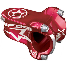 Spank Spike Race Potence à angle ajustable Ø31,8mm, red